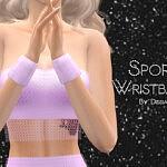 Sport Wristbands sims 4 cc
