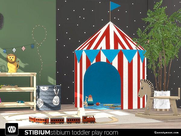 Stibium Toddler Play Room sims 4 cc