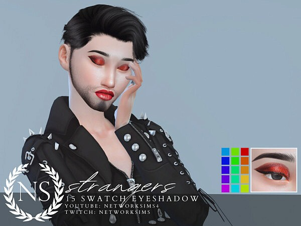 Strangers Eyeshadow by Networksims from TSR