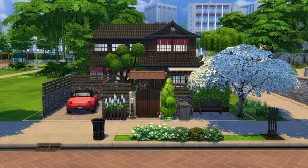 Sunrise Villa from Sims Artists