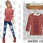 Sweater C334 For Girls