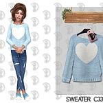 Sweater Kids sims 4 cc