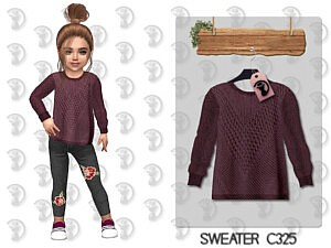Sweater toddlers sims 4 cc 1