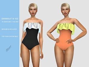 Swimsuit sims 4 cc