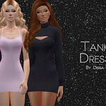 Tank Dress by Dissia