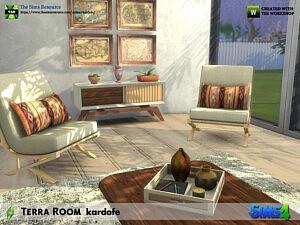 Terra Room sims 4 cc