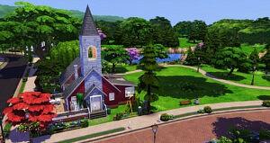 The Abandoned Church by Reverlautre