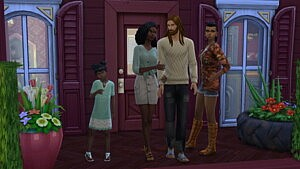 The Amphoux family sims 4 cc