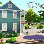 The Charleston House sims 4 cc