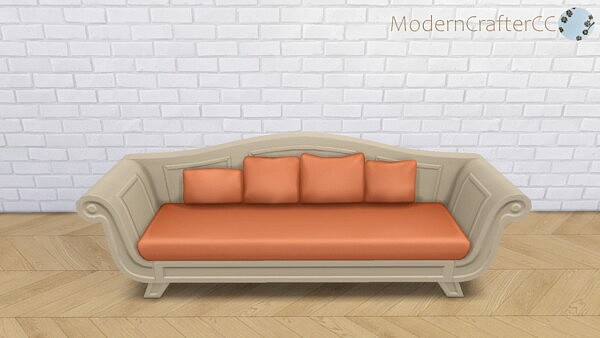 The Long Stretch Sofa sims 4 cc