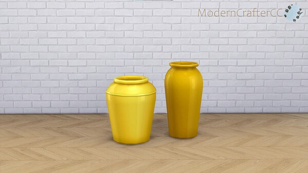 The Married Couple Vases from Modern Crafter
