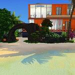 The Parrots Villa sims 4 cc