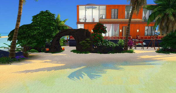 The Parrots Villa by Reverlautre from Luniversims