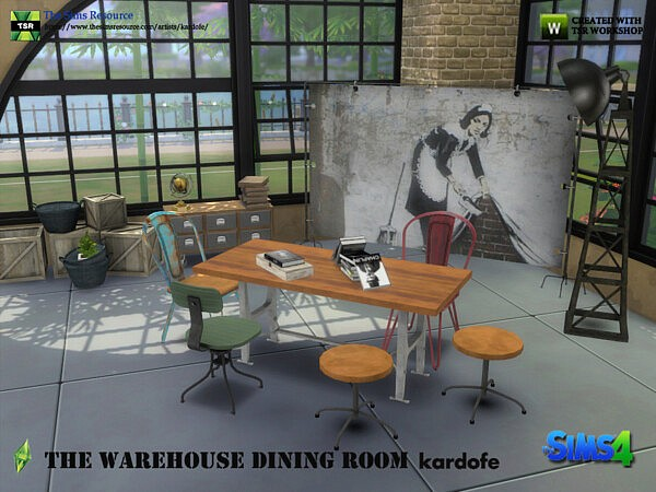 The Warehouse Dining Room