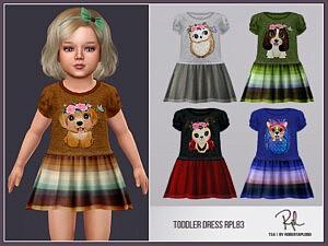 Toddler Dress Sims 4 CC