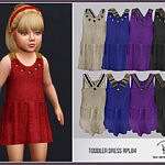 Toddler Dress sims 4 cc 1