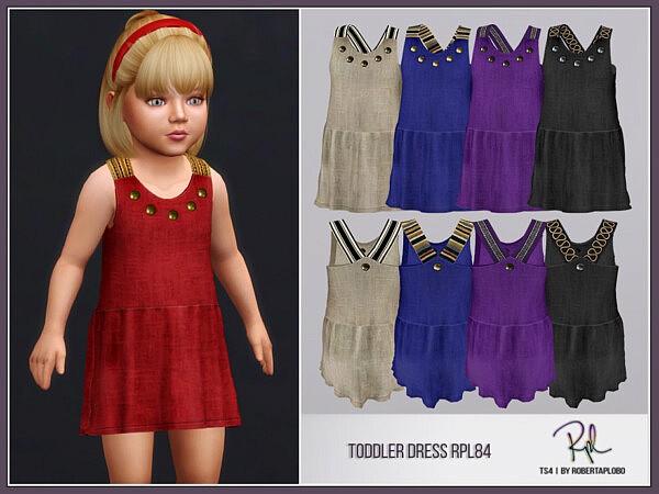 Toddler Dress sims 4 cc 1