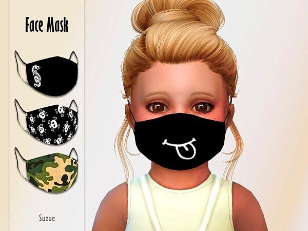 Toddler Face Mask sims 4 cc