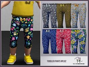 Toddler Pants Sims 4 CC