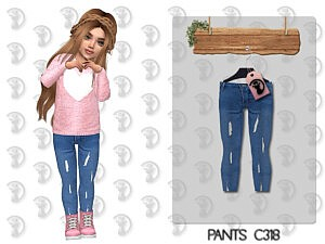 Toddlers Pants Sims 4 CC