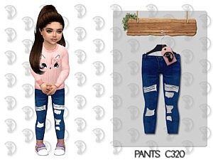 Toddlers Pants Sims 4 Cc 1