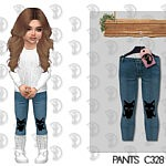 Toddlers Pants sims 4 cc 2