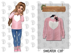 Toddlers Sweater Sims 4 CC1