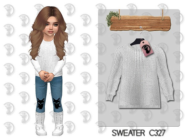 Toddlers Sweater sims 4 cc 2