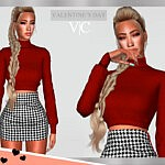 Top Valentine's Day I  by Viy Sims
