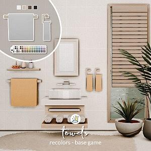 Towel Rack Sims 4