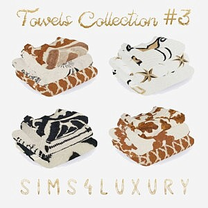 Towels Collection 3 Sims 4 CC