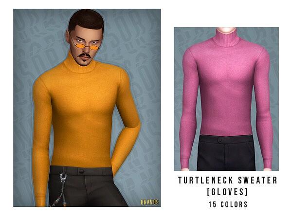 Turtleneck Sweater Accessory sims 4 cc