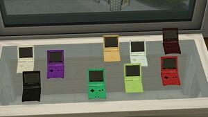 Usable Nintendo Game Boy sims 4 cc
