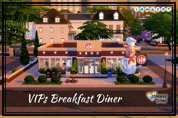 VIPs Breakfast Diner