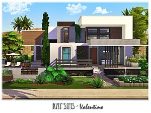 Valentino Sims 4 House