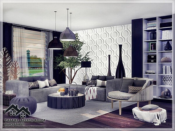 Valeri Living Room by marychabb from TSR