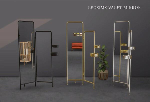 Valet Mirrors Sims 4 CC