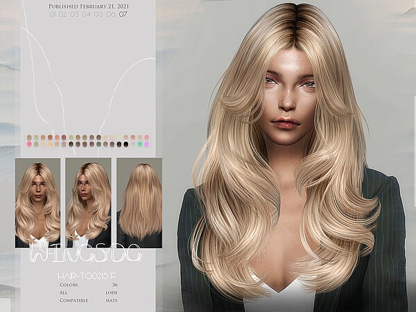 TO0215 hair by wingssims from TSR