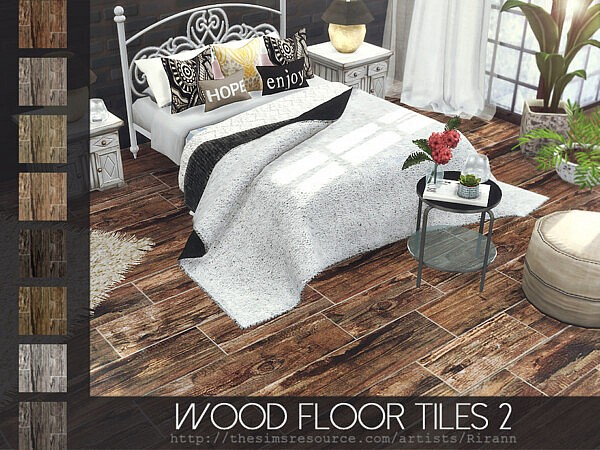 Wood Floor Tiles 2 by Rirann from TSR