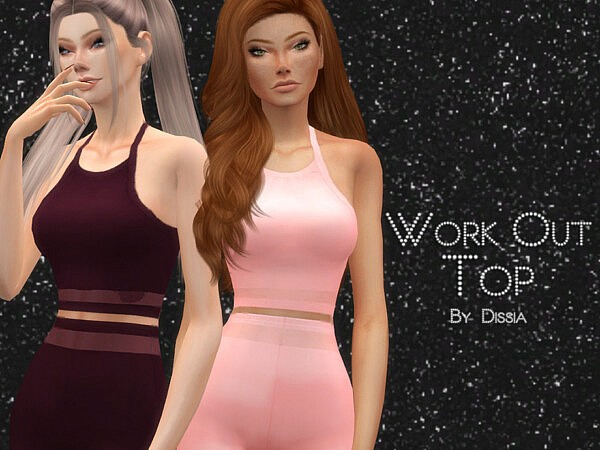 Work Out Top by Dissia from TSR