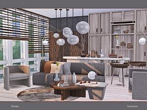 Xenia Livingroom Sims 4 CC
