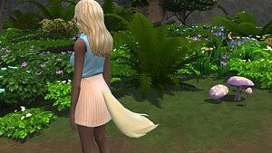 Yandere Sim Fox Tail Sims 4 CC