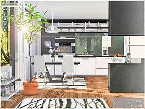 Yuriko Kitchen Sims 4 CC