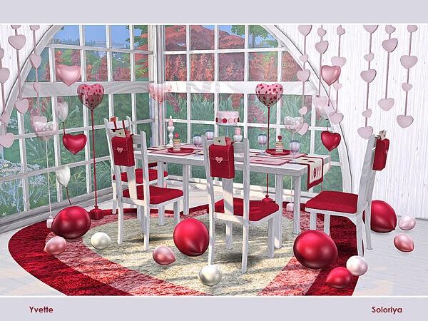 Yvette Diningroom by soloriya from TSR