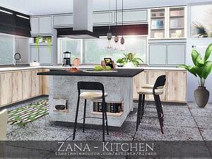 Zana Kitchen by Rirann