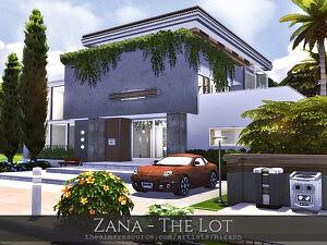 Zana The Lot Sims 4 House