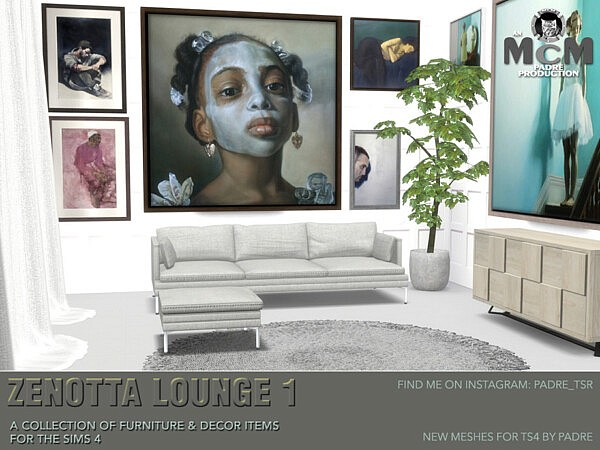 Zenotta Lounge 1 Sims 4 CC