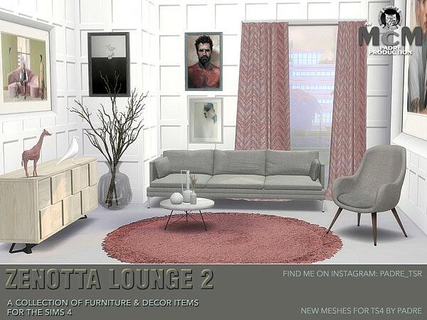 Zenotta Lounge 2 sims 4 cc