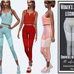sports leggings sims 4 cc