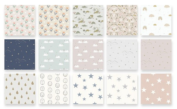 Children's Wallpaper Collection 2021 from Simplistic